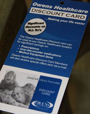 Owens Pharmacy Discount Card