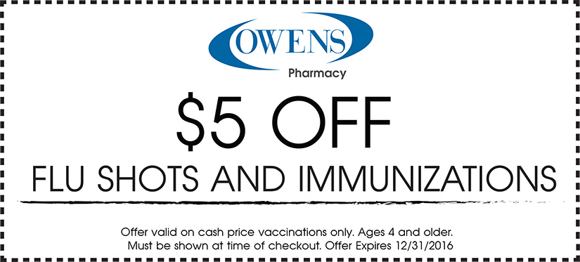 Flu Shot Coupon